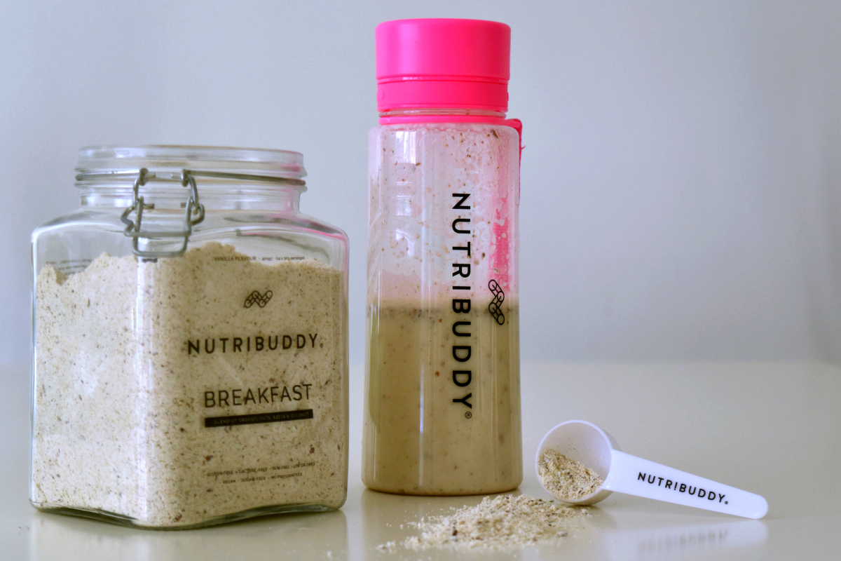 @morethangreens's cover photo for 'My First Impressions of the Nutribuddy Breakfast Shake'