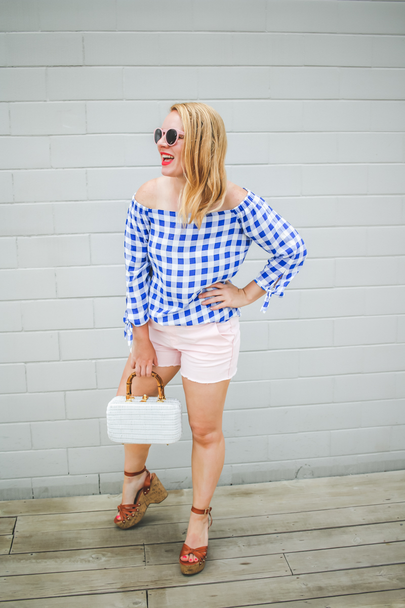 @itspamdel's cover photo for 'Gingham Trend Continues On! | It's Pam Del'