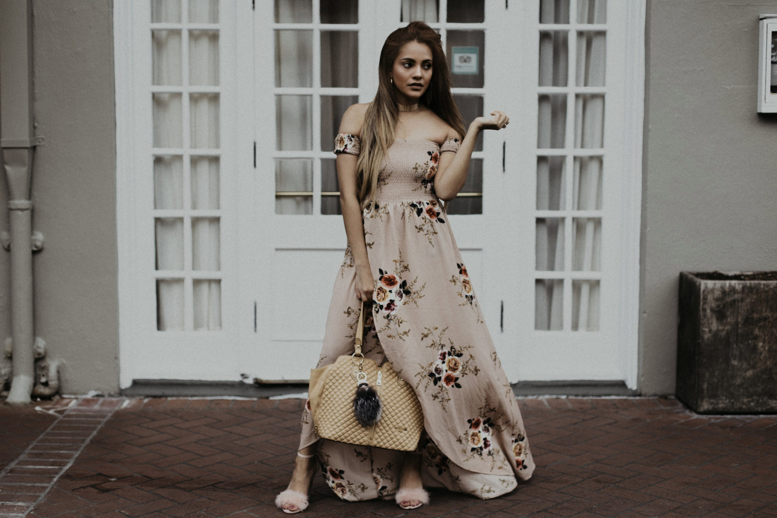 @priscillaeslo's cover photo for 'Spring Dresses: Floral Maxi Dress Trend Alert and Where to Shop!'