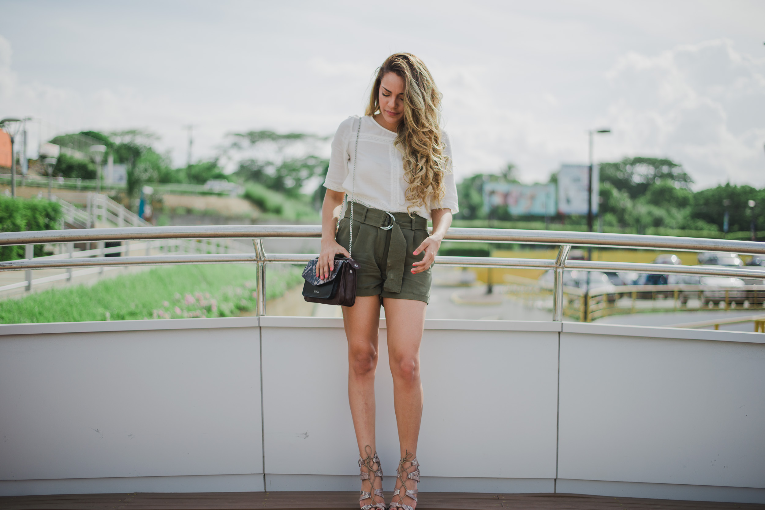 @priscillaeslo's cover photo for 'Green Shorts: Is Olive Green the new Black? Shop Now!'