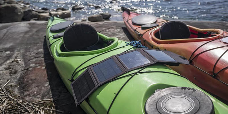 @greentumble's cover photo for '7 Best Portable Solar Chargers to Buy in 2018 | Greentumble'