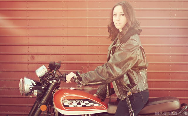 @thegentlemanracer's cover photo for 'TheGentlemanRacer.com: Moto Girl: Leena'