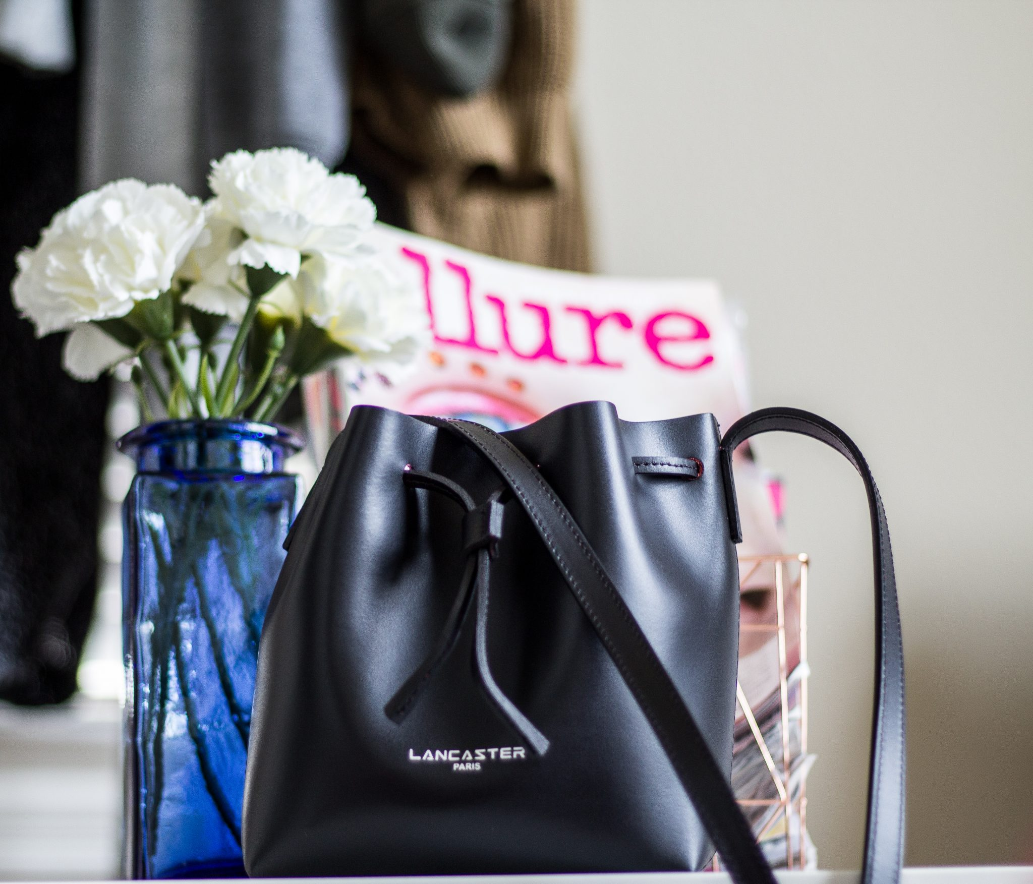 @soigneestyle's cover photo for 'Lancaster Mini Bucket Bag Review - CieraNicholle's Style Firm'