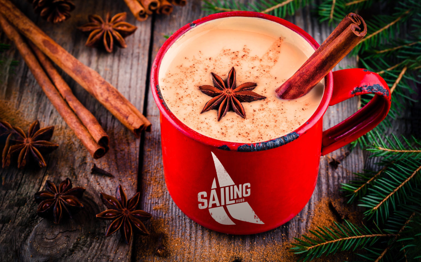 @sailinghubb's cover photo for 'The Rum Coffee Flip: A new take on your holiday eggnog recipe - Sailinghubb'