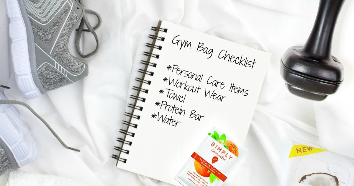 @barbiesbeautybits's cover photo for 'Barbie's Beauty Bits: Gym Bag Essentials Checklist With Summer's Eve'