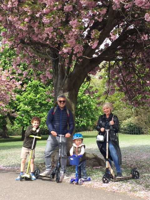 @that_mummy_smile's cover photo for 'Family Scooting with Micro Scooters, by mummy blogger Laura Rutherford'