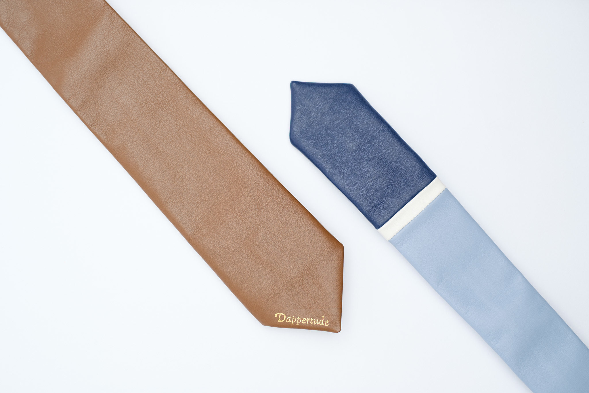 @dapper.tude's cover photo for 'Leather ties are a must have....surprised?'