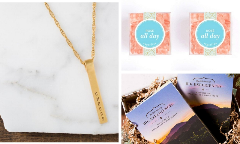 @sunshineandvines's cover photo for '9 Clever Gift Ideas for Wine Lovers'