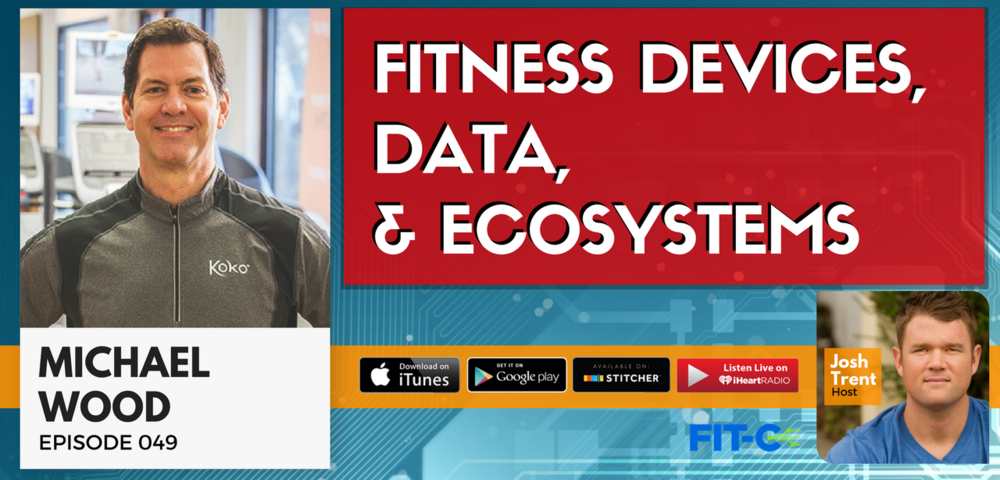 @michaelwoodfitness's cover photo for '049 Michael Wood: Fitness Devices, Data, & Ecosystems'