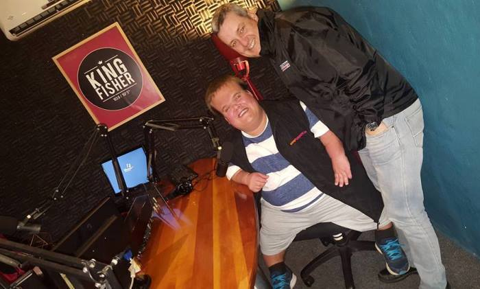 @garethrmason's cover photo for 'Radio Interview with KingFisher FM | Walking Tall with GMAN'