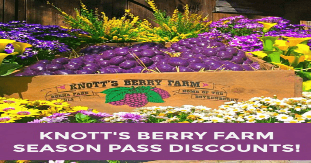 @socalfieldtrips's cover photo for 'A Knott's Berry Farm Season Pass Offers No Black Out Dates'