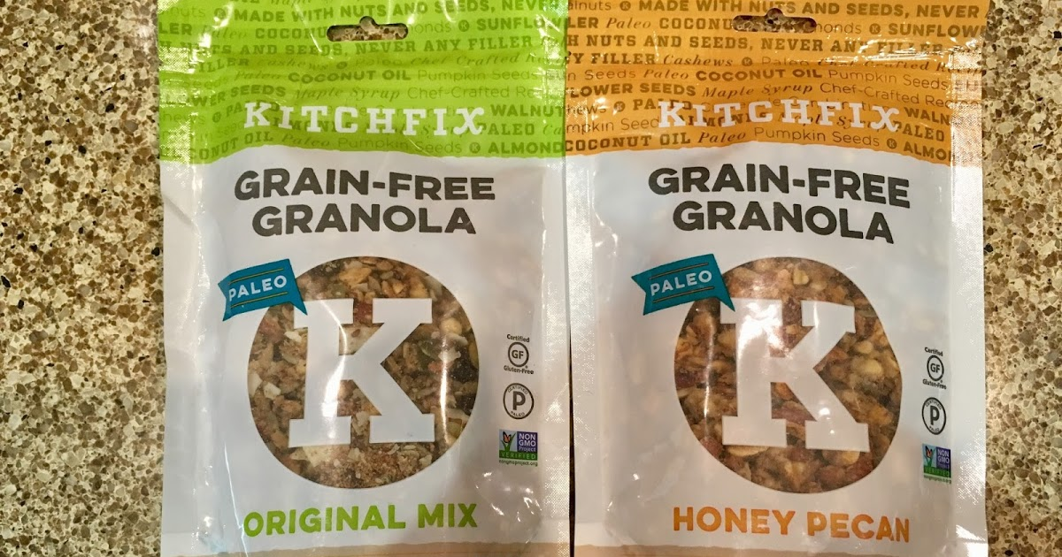 @bloggingmama's cover photo for 'Kitchfix Grain-Free Granola - Review & Giveaway'