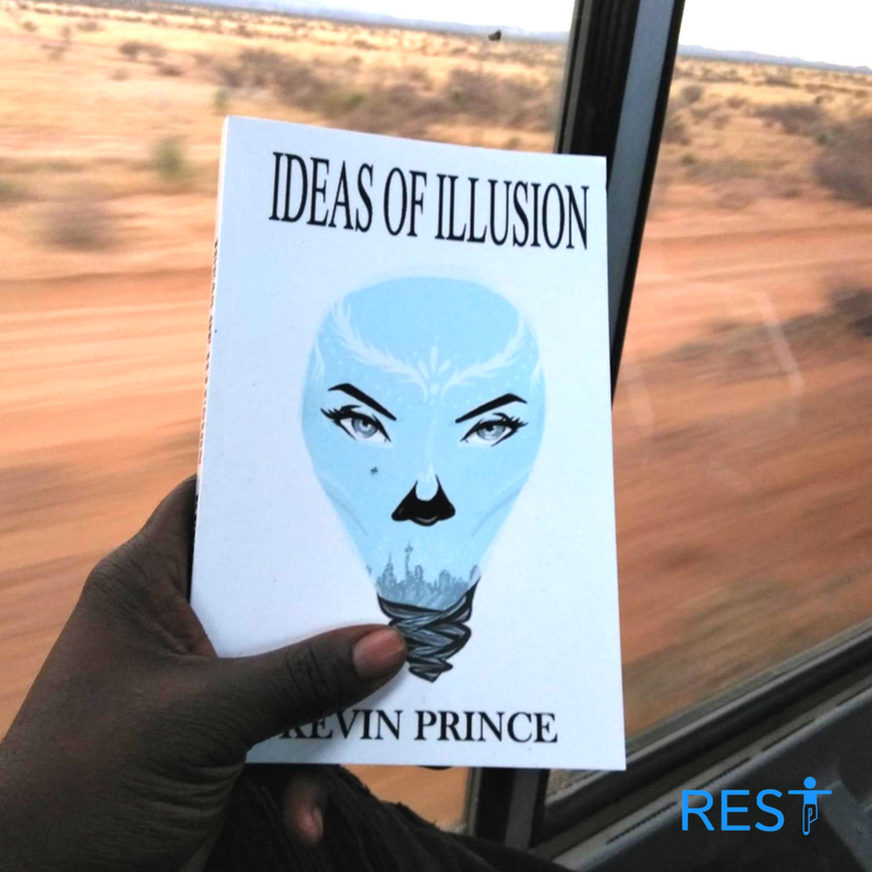 @kinyohq's cover photo for 'Book Review - Ideas of Illusion by Kevin Prince. Short Version: Dystopian. Dream Sequence.'