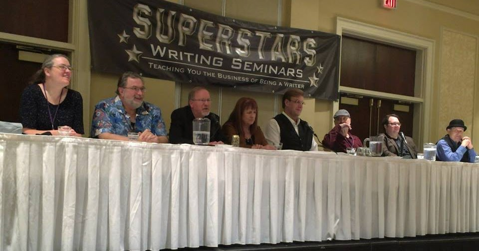 @markleslielefebvre's cover photo for 'Superstars Writing Seminars 2018'