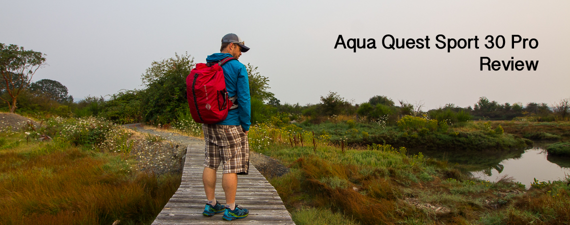 @pureoutside's cover photo for 'Aqua Quest Sport 30 Pro Backpack Review - The PureOutside Blog'