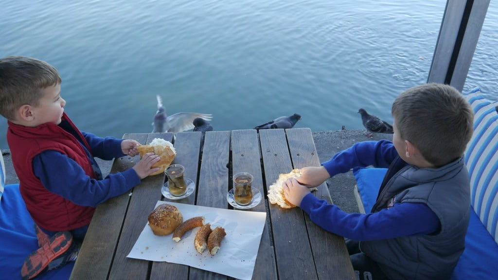 "@growinguptwo's cover photo for 'Say ""Hello"" to the fish in Fethiye 