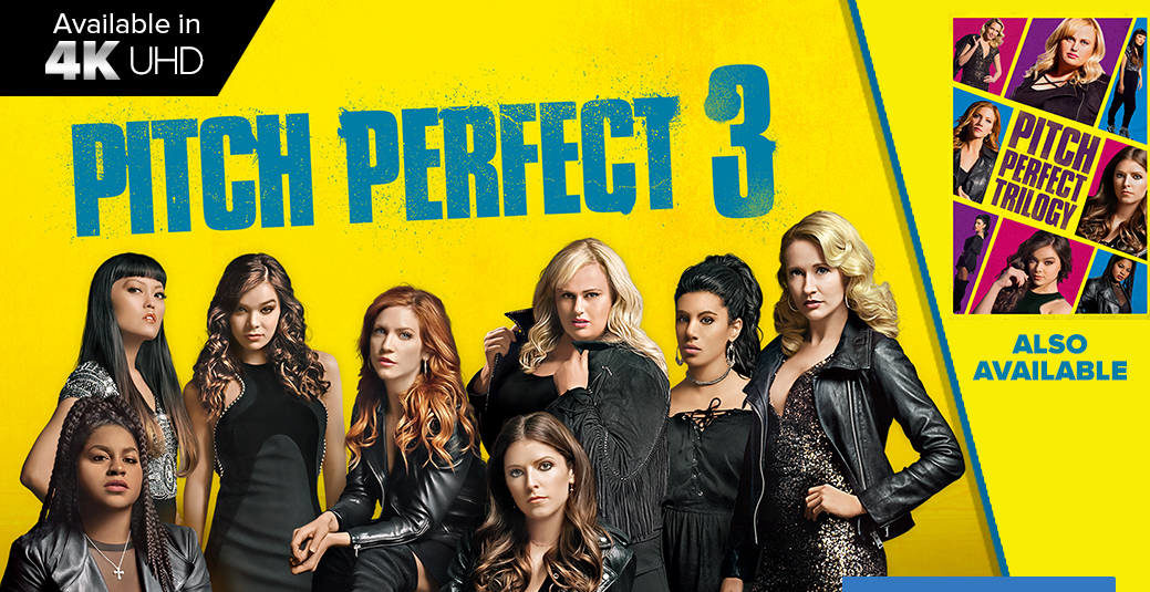 @reeltalkinc's cover photo for 'Reel Blu-ray Review: Pitch Perfect 3 - Reel Talk'