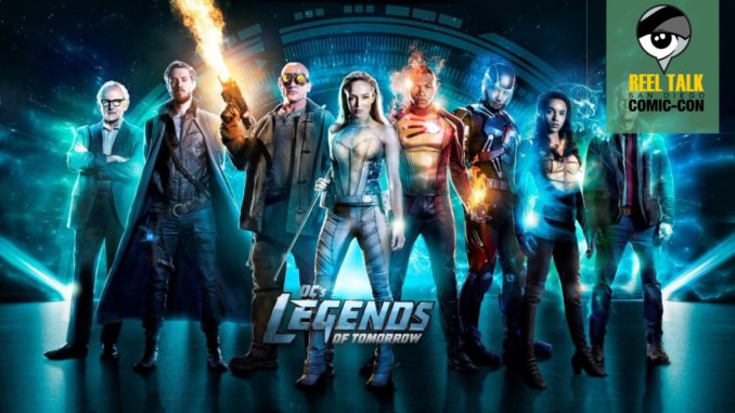 @reeltalkinc's cover photo for 'Reel SDCC: DC's Legends of Tomorrow - Reel Talk'