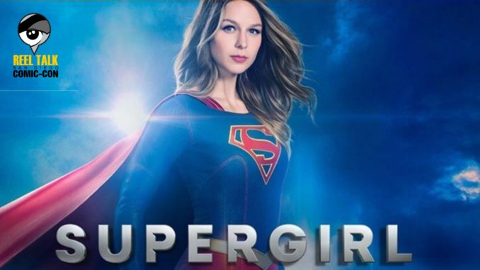 @reeltalkinc's cover photo for 'Reel SDCC: Supergirl - Reel Talk'