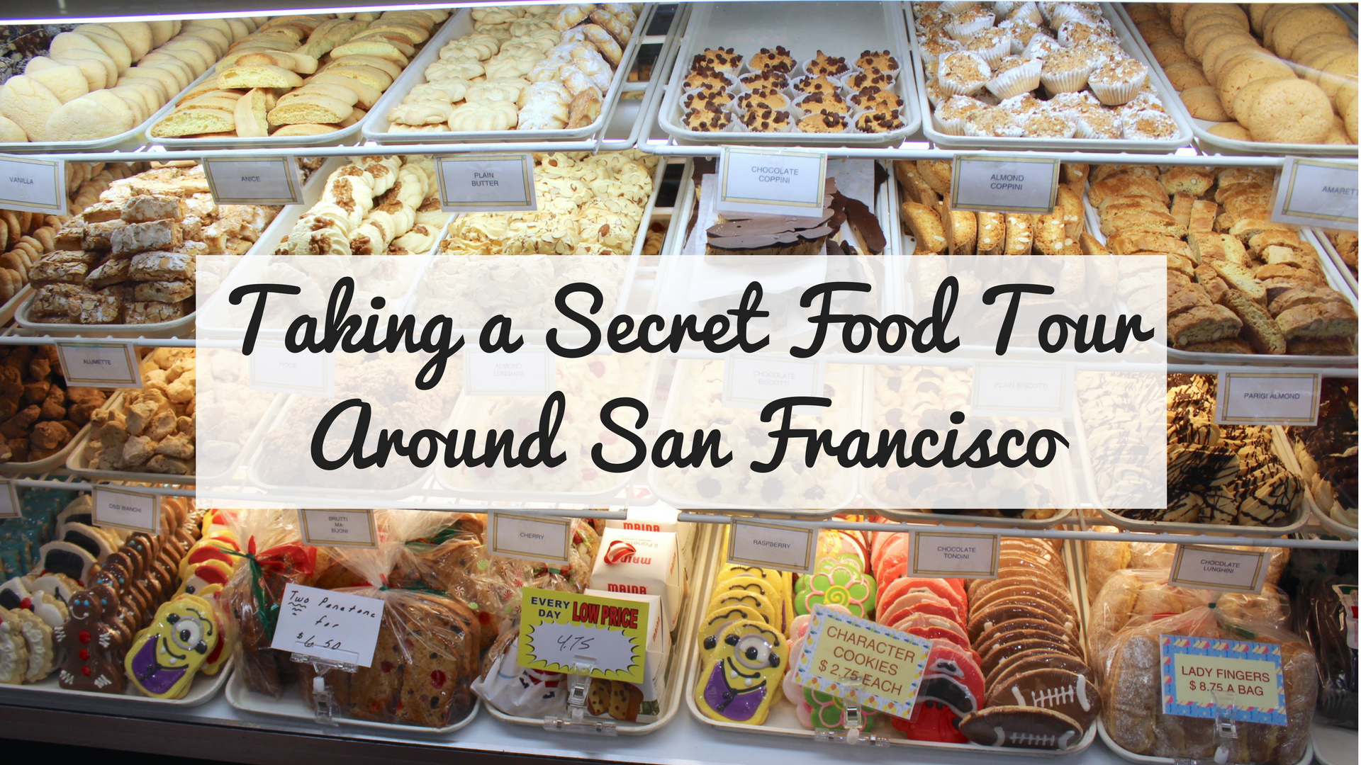 @thecuriousexplorers's cover photo for 'Taking A Secret Food Tour Around San Francisco - The Curious Explorers'