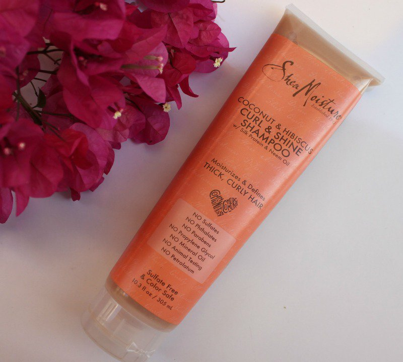 @glossypolish1's cover photo for 'Shea Moisture Shampoo Coconut & Hibiscus Curl & Shine– My Absolute Fav !'