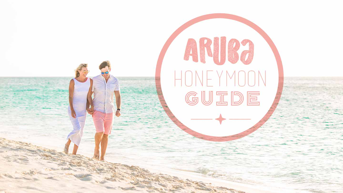 @gettingstamped's cover photo for 'Complete Guide to an Aruba Honeymoon Destinations & Itinerary'