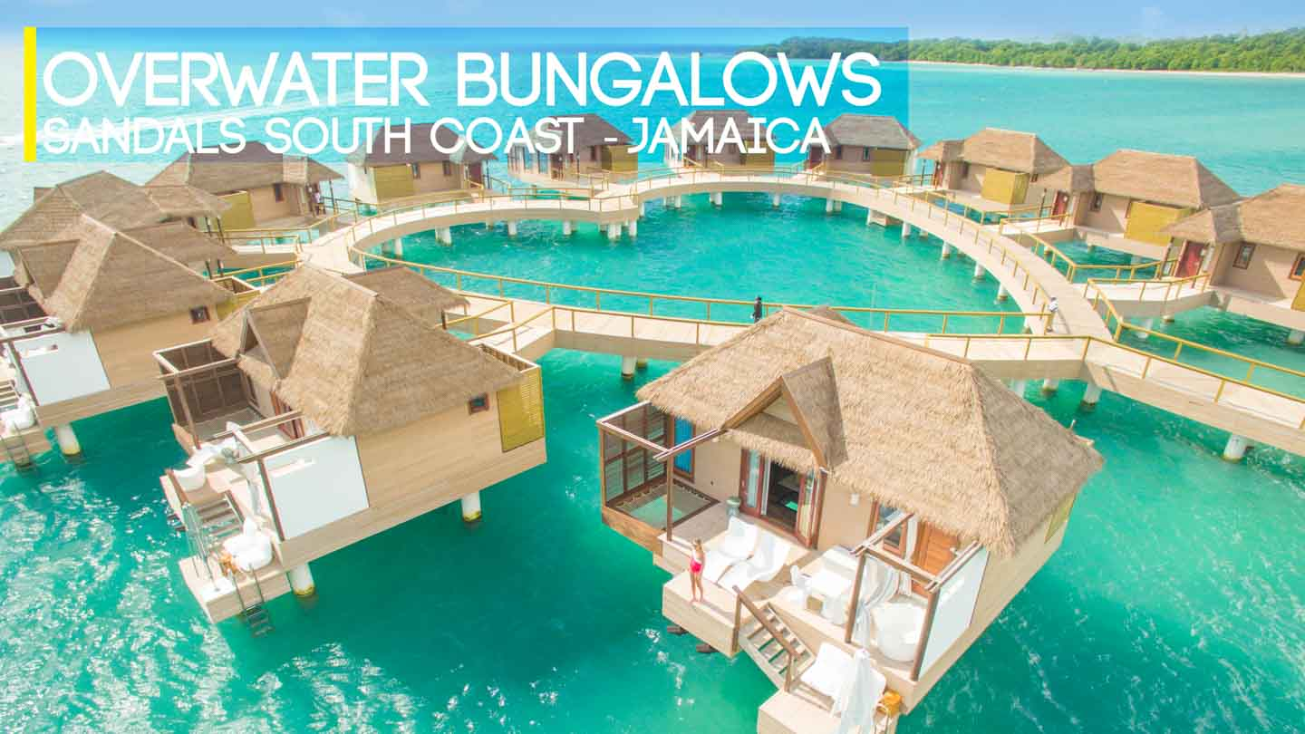 @gettingstamped's cover photo for 'Sandals Resorts Overwater Bungalows in Jamaica'