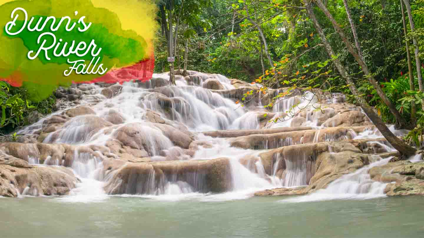 @gettingstamped's cover photo for 'Visiting Dunn's River Falls - Ocho Rios Jamaica '