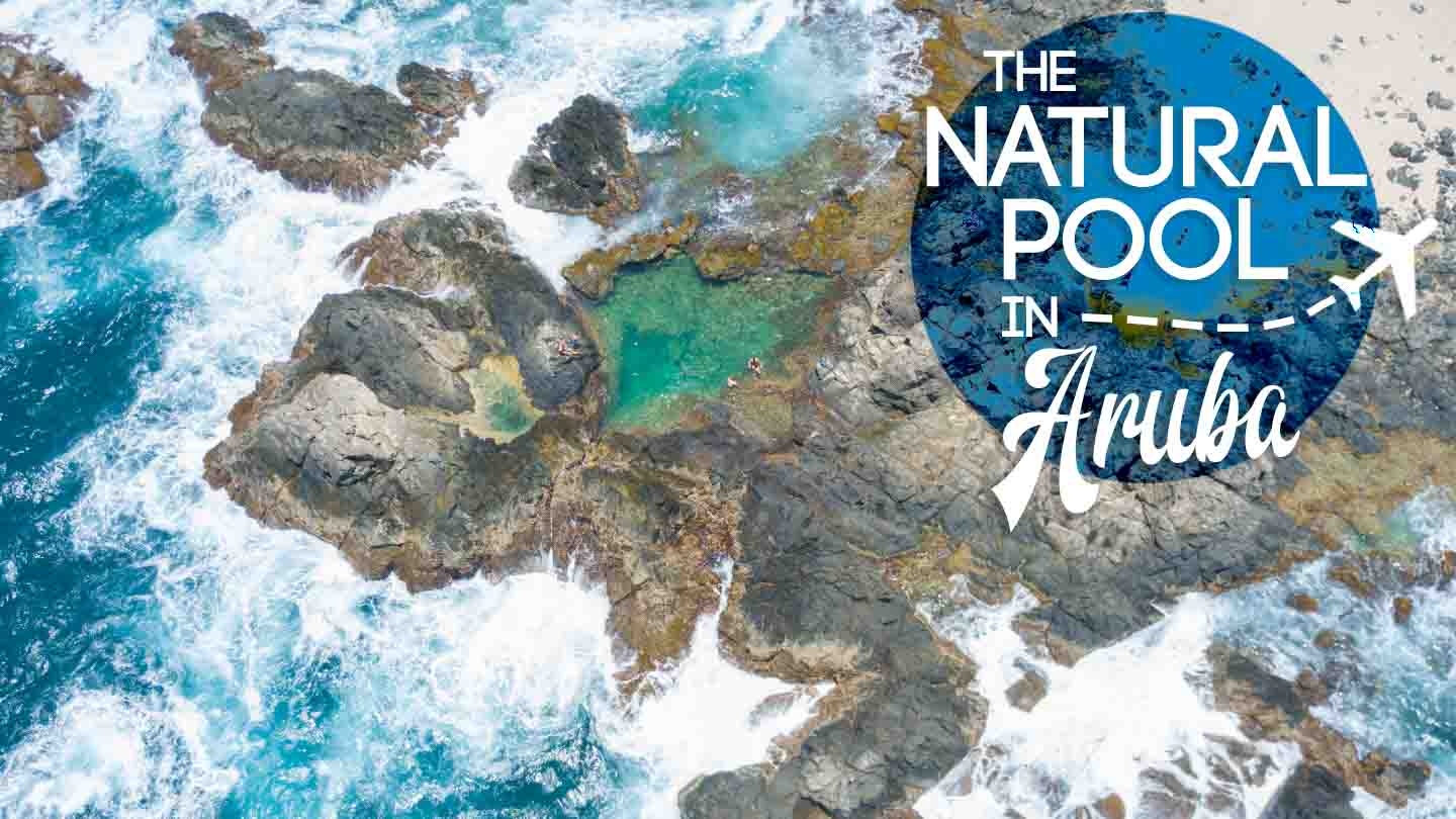 @gettingstamped's cover photo for 'Everything You Need to Know Before Visiting Aruba Natural Pool'
