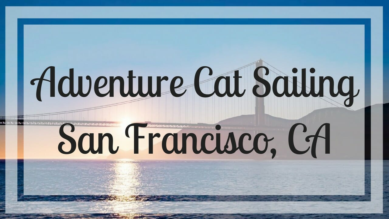 @everywhereandback's cover photo for 'Adventure Cat Sunset Sailing - San Francisco, CA | Everywhere & Back'