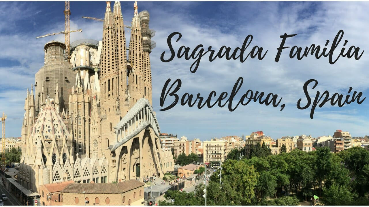 @everywhereandback's cover photo for 'A Look Inside Sagrada Familia | Everywhere & Back'