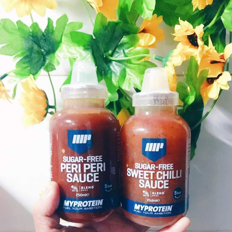 @siminlovecheer's cover photo for 'MYPROTEIN/Suagr-Free Sauce'