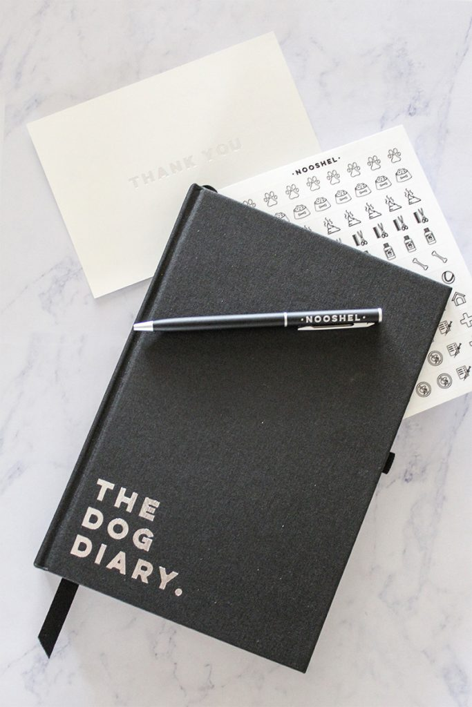 @stylish_paws's cover photo for 'Product Review: The Nooshel Dog Diary. - Stylish Paws'