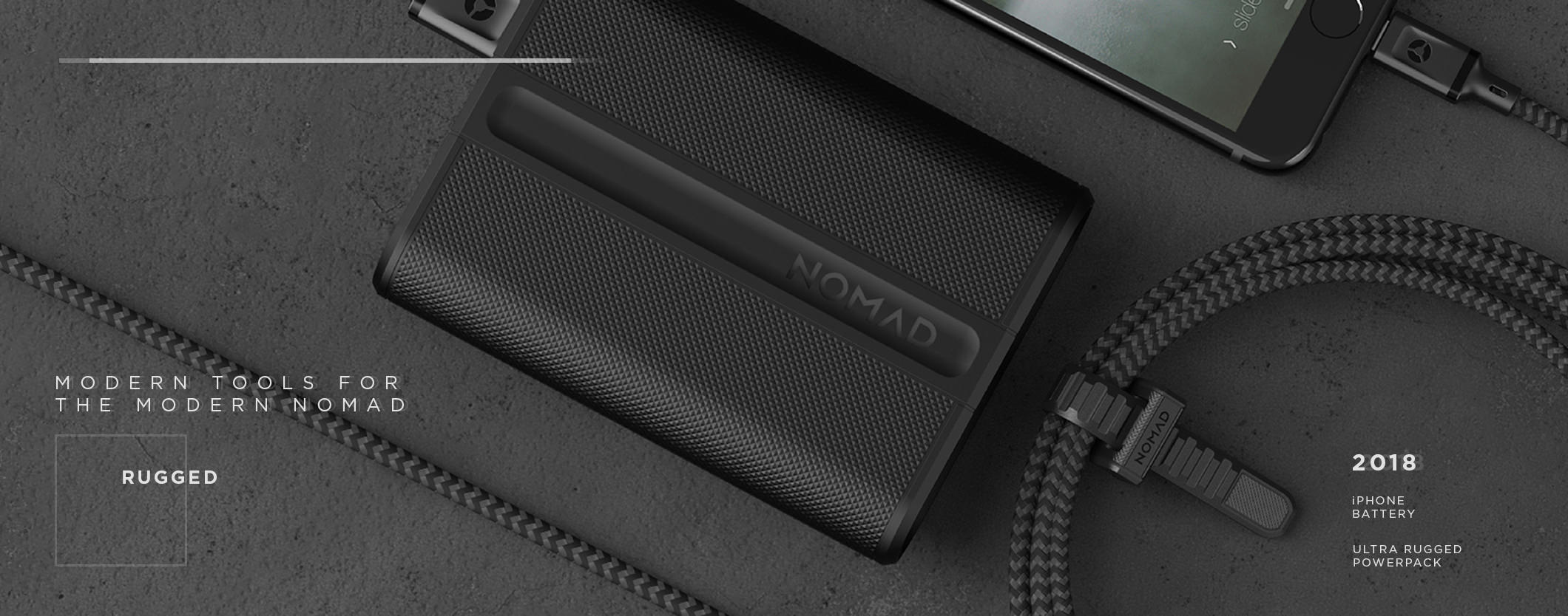 @gadgetvibes's cover photo for 'The Nomad Powerpack: trackable battery - Gadget Vibes'