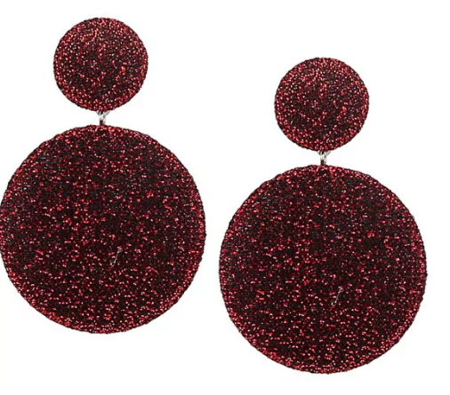 @lipsandheels_com's cover photo for 'Vintage: Viseće minđuše kružnog oblika'