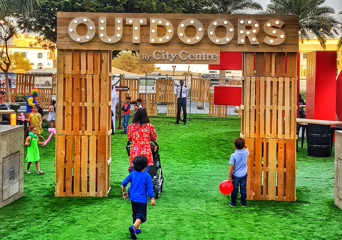 "@maharat.m's cover photo for 'Let's be outdoors, before its time to be indoors Dubai. – ""Outdoors"" by City Centre'"
