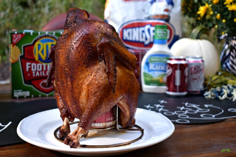 @olivejudeblog's cover photo for 'A Grill-Gate GameDay Gathering featuring Dr Pepper Can Chicken | Olive Jude'