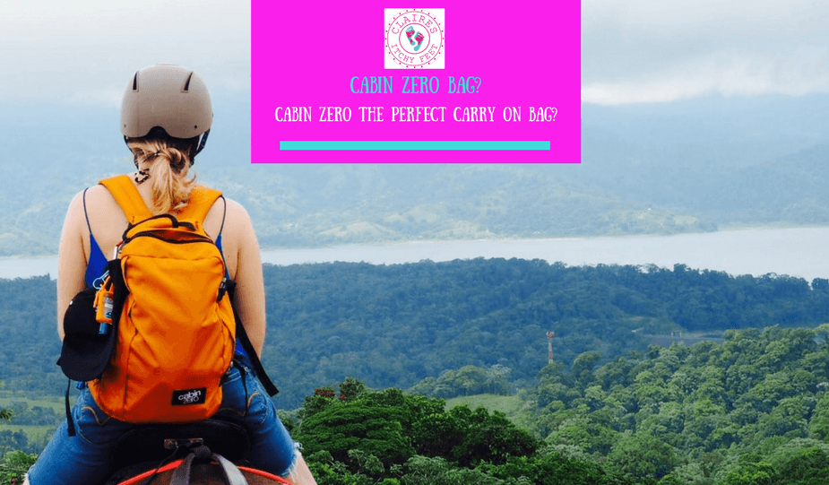 @clairesitchyfeet's cover photo for 'Claire's Itchy Feet | Packing | Cabin Zero is this the perfect carry-on bag?'