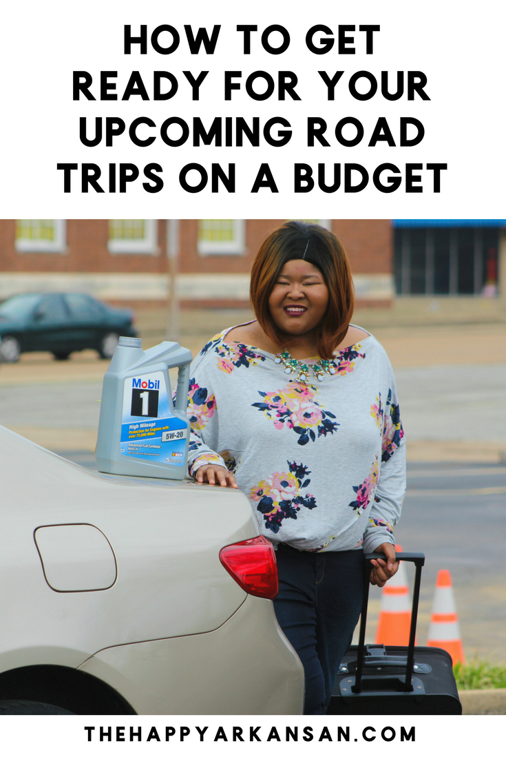 @thehappyarkansan's cover photo for 'How To Get Ready For A Road Trip On A Budget'