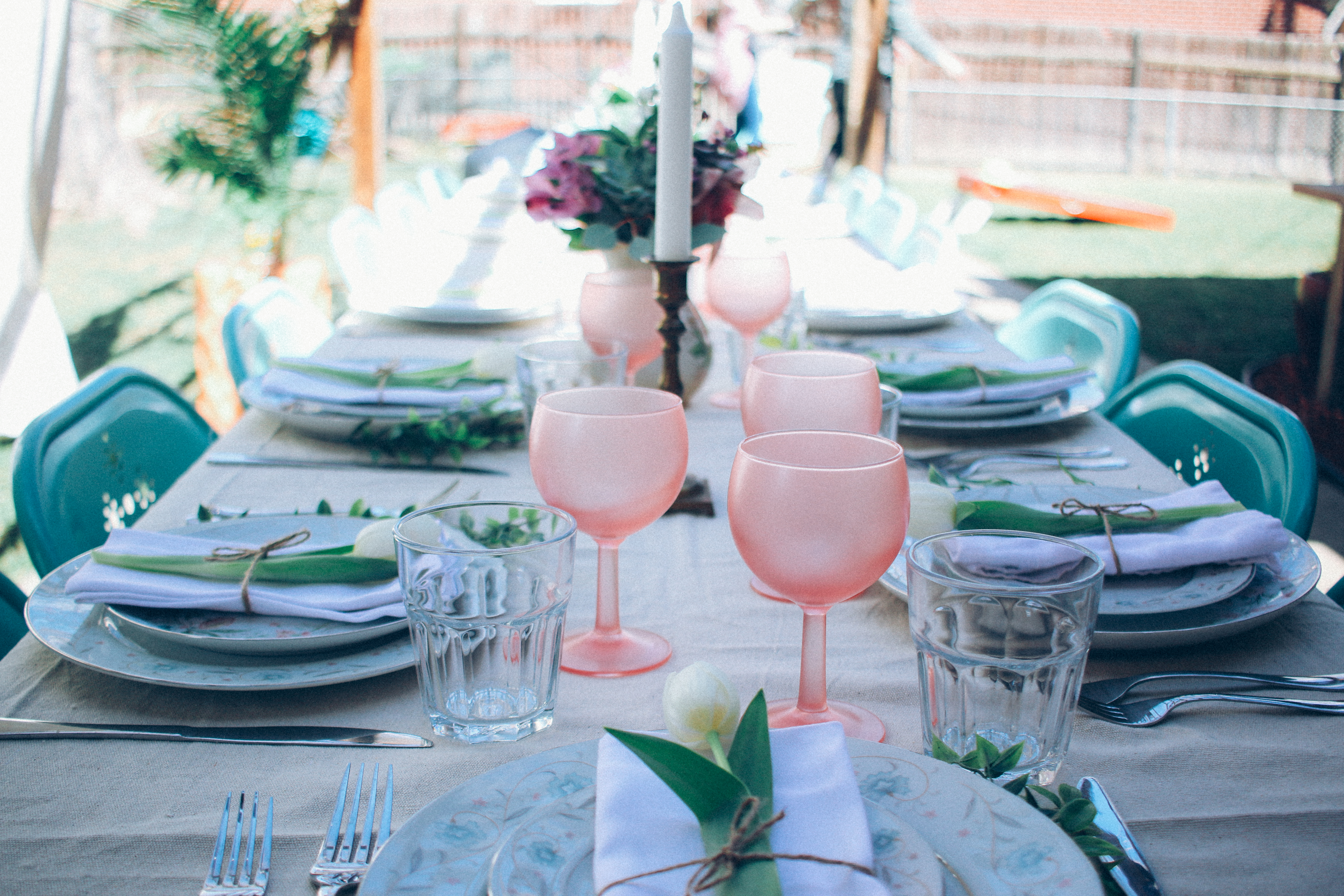 @mymountainwild's cover photo for 'How to Throw a Boho Chic Spring Brunch | New Momma Survival'