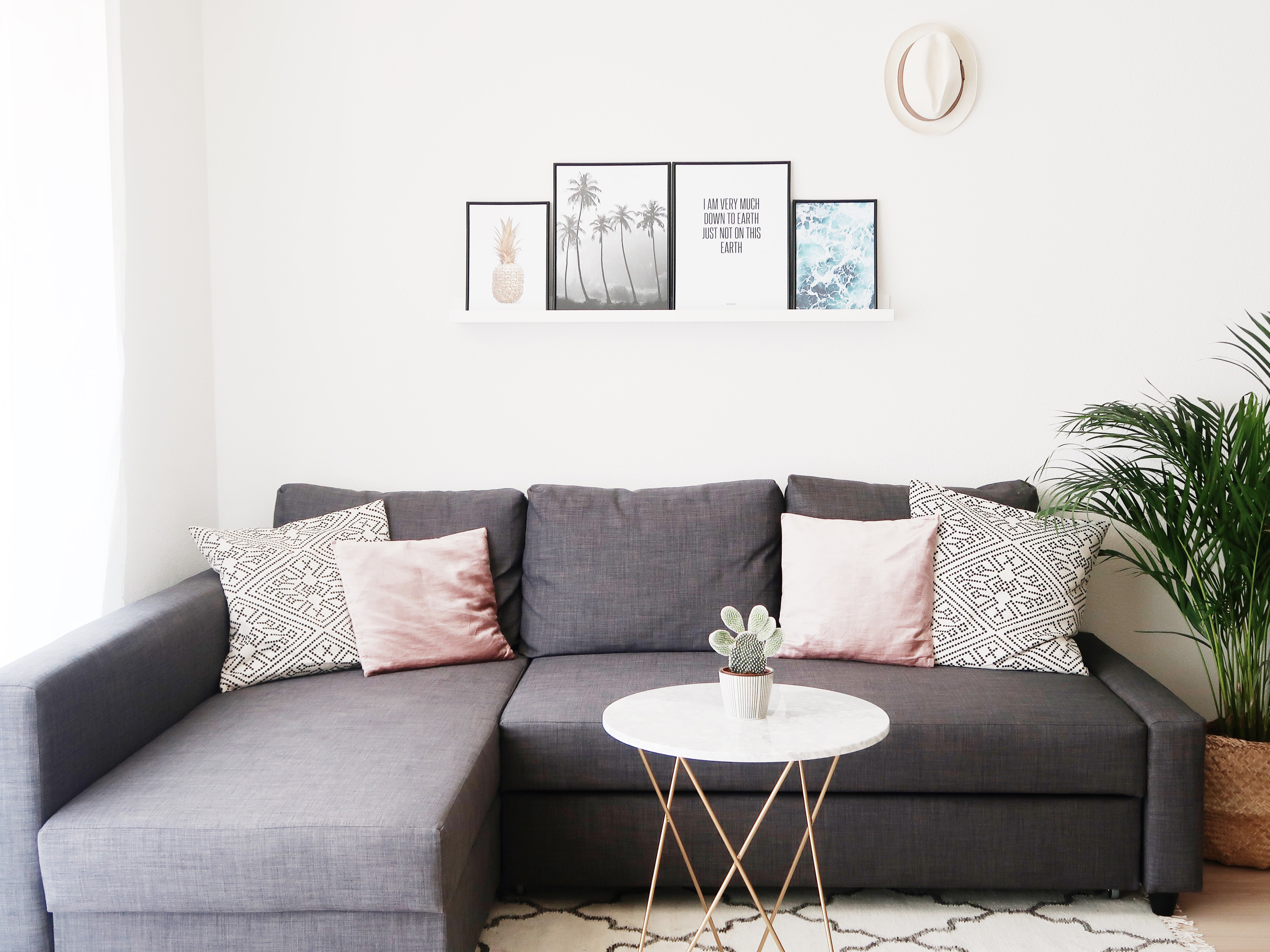 @cocorebelista's cover photo for 'Ikea Apartment Styling Tour - BellezaRebel - Beauty & Styling Blog'