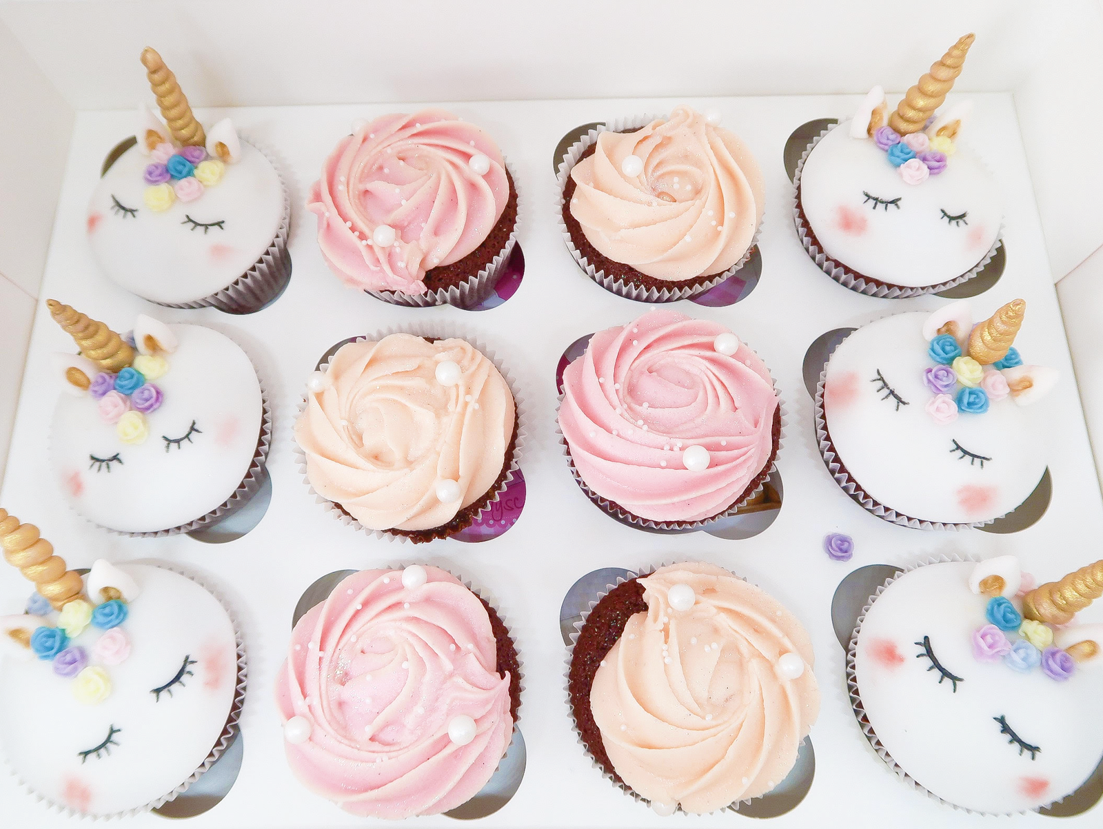 @cocorebelista's cover photo for 'Birthday Girl: Unicorn Cupcakes - BellezaRebel - Swiss Blog'