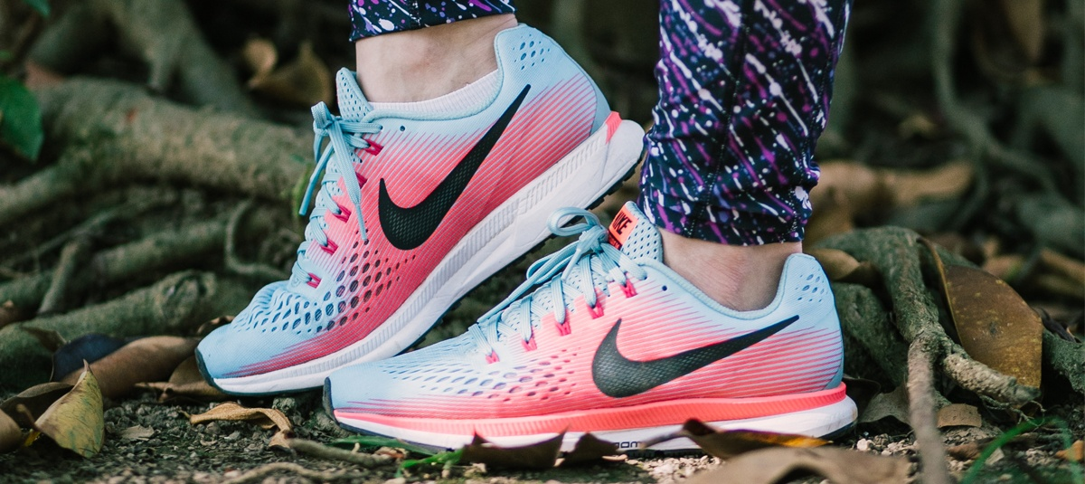 @acordeidisposta's cover photo for 'Usamos e contamos: Nike Pegasus 34 - Acordei Disposta'