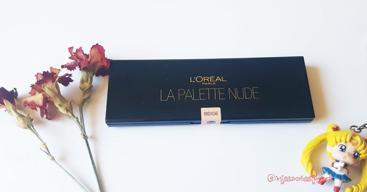 @missacrossthesea's cover photo for 'L'oreal Paris Color Richè La Pallet Nude Eyeshadow [Beige] -Promotion-'