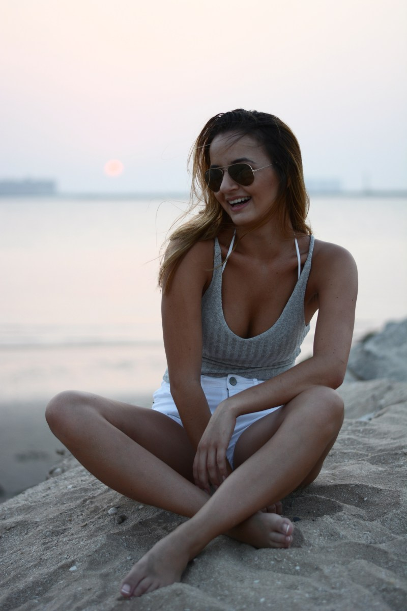 @alice_bogni's cover photo for 'Outfit | Beach Cami by ROMWE'