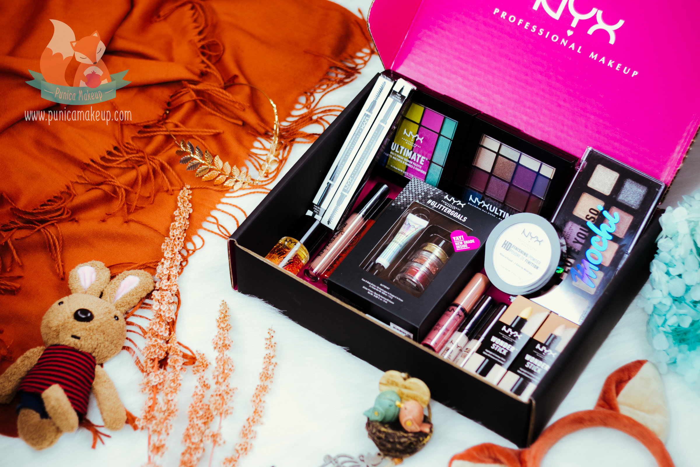 @punicamakeupcom's cover photo for 'NYX Professional Makeup Limited Release Box | Punica Makeup'