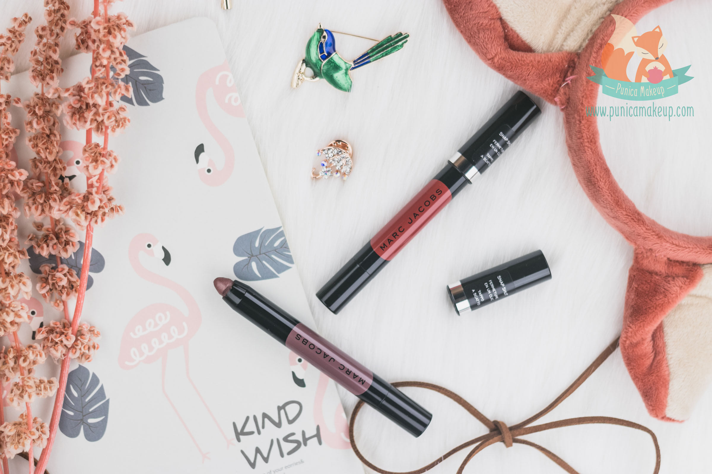 @punicamakeupcom's cover photo for 'Review: Marc Jacobs - Le Marc Liquid Lip Crayon | Punica Makeup'