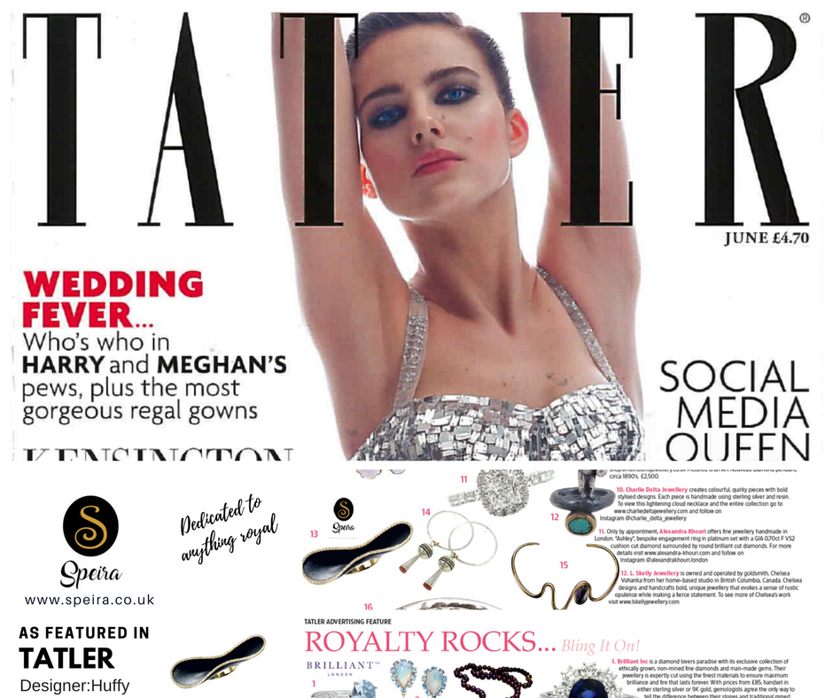 @thehappycreations's cover photo for 'Featured in Tatler Speira Jewellery with Gondola Ring by Huffy'