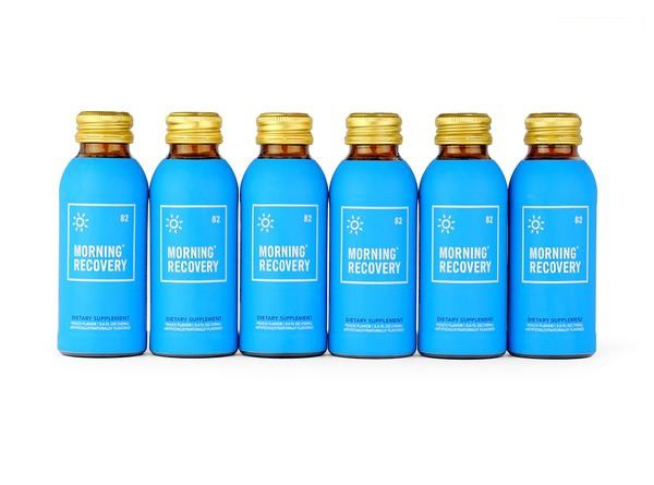 @dudeliving's cover photo for 'Morning Recovery Drink Review - The Cure for Hangovers | DudeLiving'