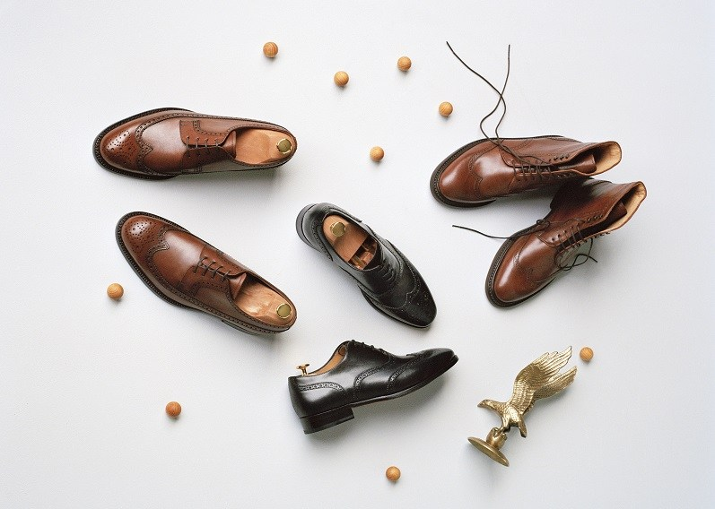 @dudeliving's cover photo for 'Jack Erwin Shoe Review - Hubert Long Wing Blutcher Leather Shoes'